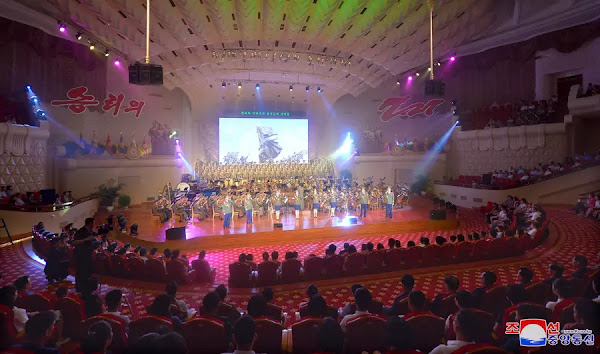 War victory day performance, July 27, 2019