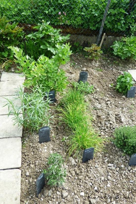 DIY Schiefer Garten