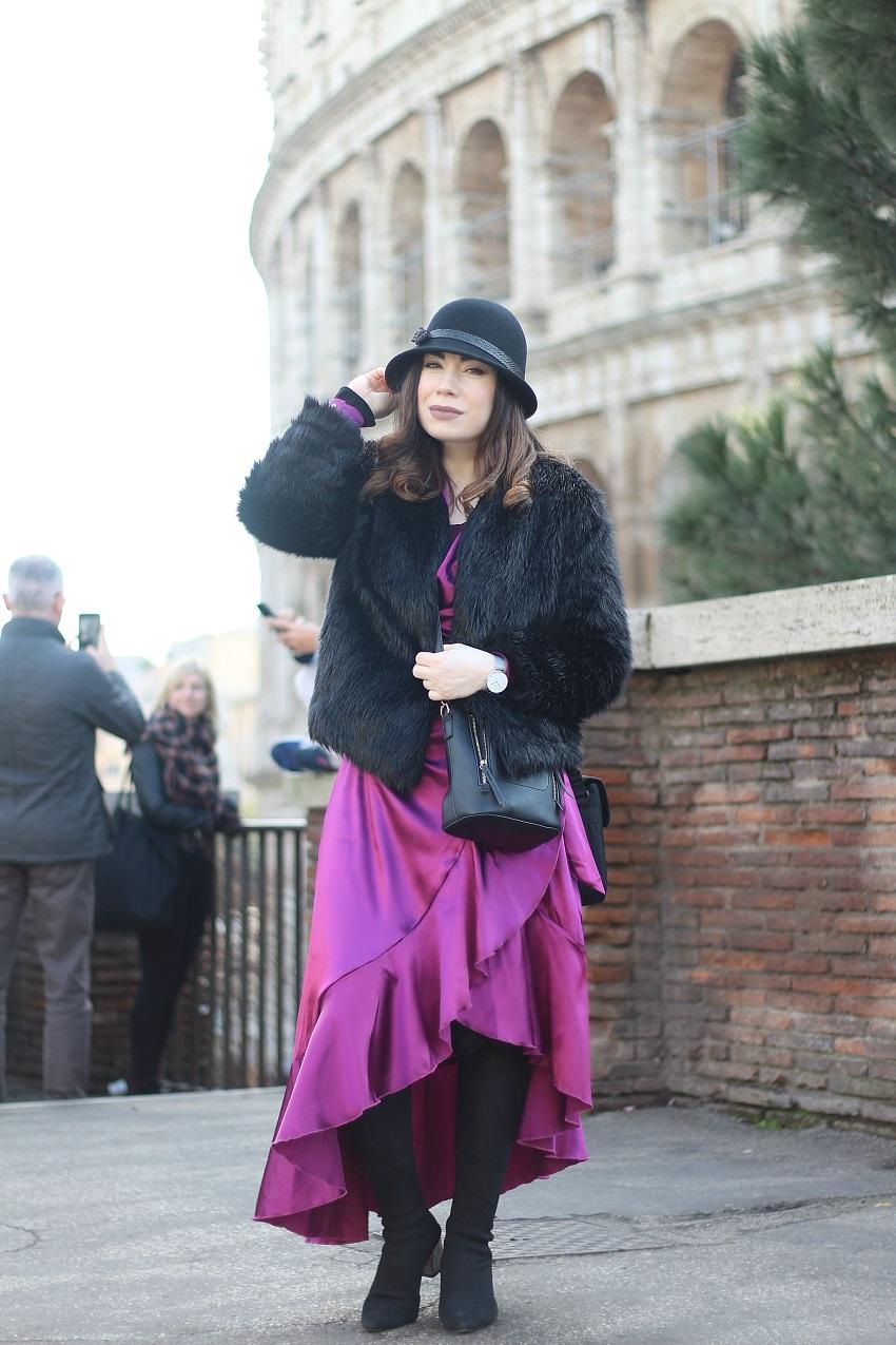 alışveriş-shein-saten elbise-mor elbise-moda-fashion blogger-roma-rome