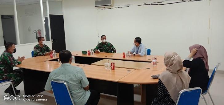 Kapendam Hasanuddin Kunjungan Silaturahmi di Media Kompas TV Makassar