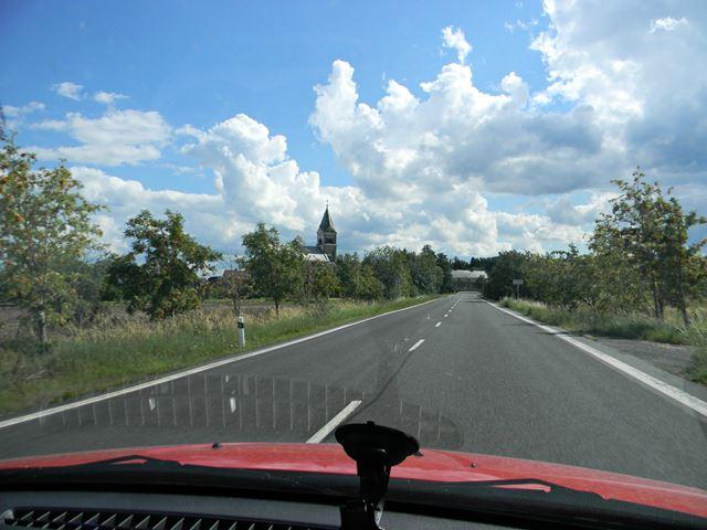 droga, wieś, Czechy, koło Paczkowa