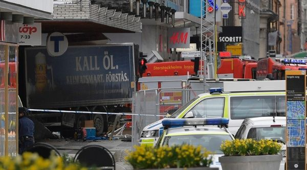 Arrestan a un sospechoso del ataque en Estocolmo