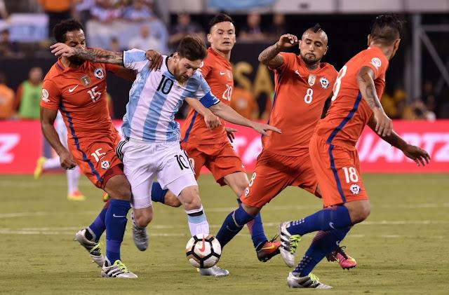 Argentina y Chile en Copa América Centenario, 26 de junio de 2016