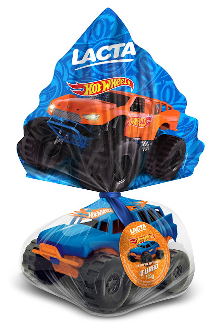 Ovo de Páscoa LACTA 2016 Hot Wheels