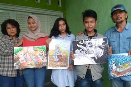 5 siswa Semarang juara kartun internasional di China