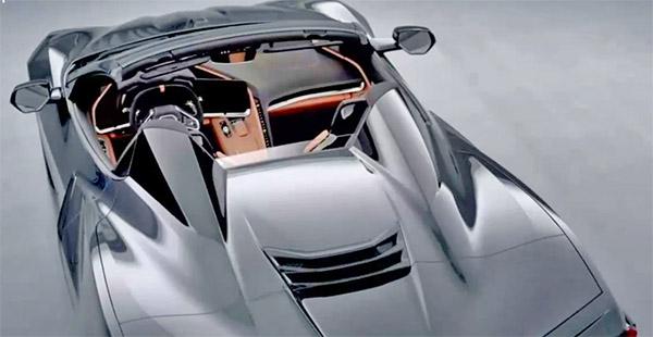 Burlappcar Chevrolet Corvette C8 Convertible