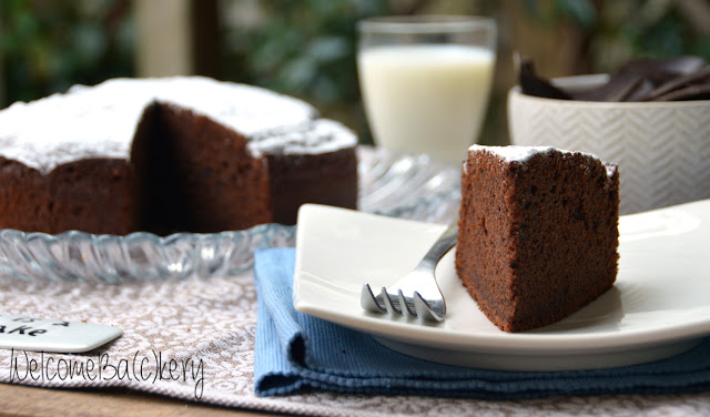 fetta torta al cioccolato