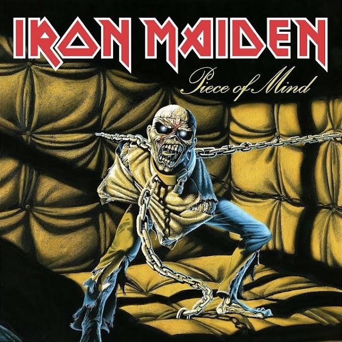 Encarte: Iron Maiden - Piece Of Mind