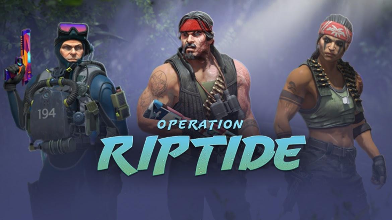 Misje CSGO Operacja Riptide