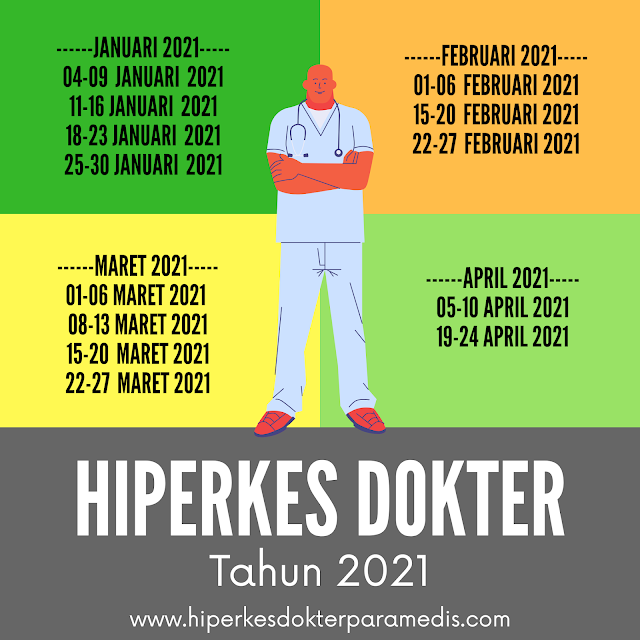 Pelatihan HIPERKES 4-9 Januari 2021 (Masih ada kuota, silahkan mendaftar)