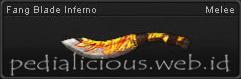 Senjata PB Fang Blade Inferno