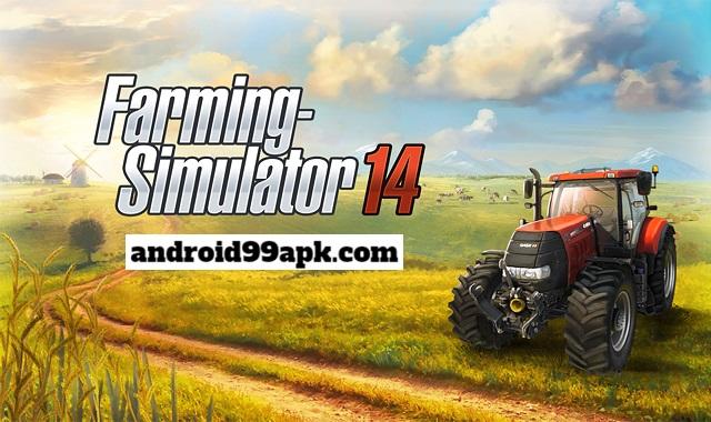 لعبة Farming Simulator 14 v1.4.4 مهكرة بحجم 51 ميجابايت للأندرويد