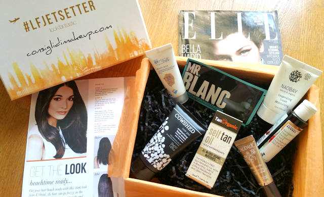 Lookfantastic Beauty Box Luglio 2016 the #LFJETSETTER edition