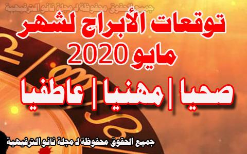 توقعات الأبراج لشهر مايو 2020