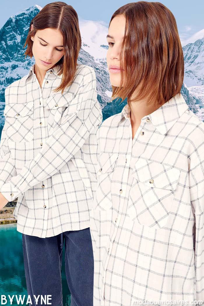 camisas de mujer otoño invierno 2021