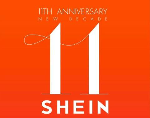 تخفيضات تصل الى 99% وهدايا مجانيه بمناسبة الذكرى 11 لمتجر SHEIN