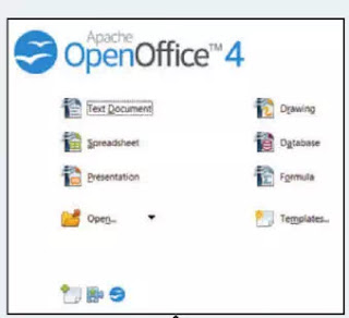 Figure 1 Apache OpenOffice Welcome Screen