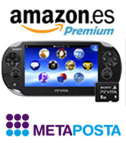 Amazon España, PS Vita y Metaposta