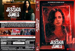 JESSICA JONES TEMPORADA 3 2019 [COVER – SERIE – DVD]
