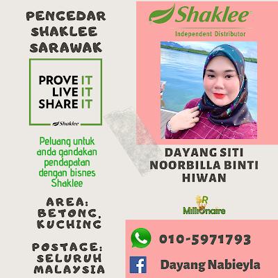 Pengedar Shaklee Kuching 0105971793