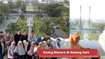 Ruang menara di Gedung Sate sebagai cagar budaya Indonesia