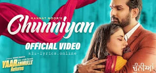 CHUNNIYAN LYRICS - TRANSLATION - MANNAT NOOR