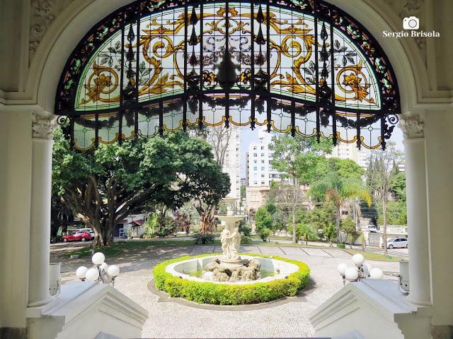 Palacete Basílio Jafet (vista da escadaria de entrada)