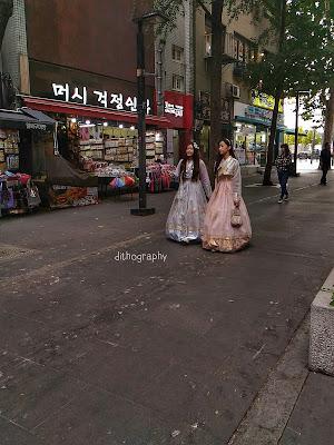Jalan Sore di Insa-dong | 인사동 seoul korea selatan