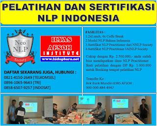 Pelatihan dan Sertifikasi NLP Wonogiri 2017 2018