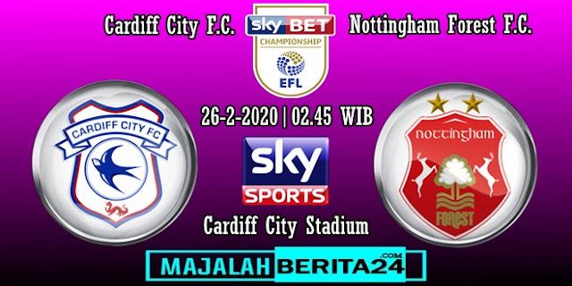 Prediksi Cardiff City vs Nottingham Forest