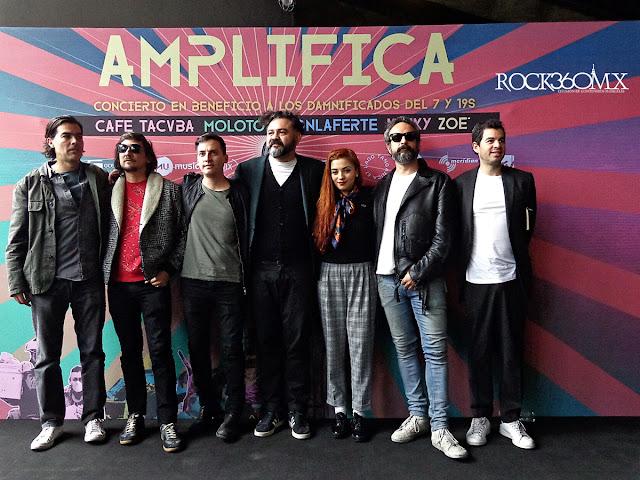 AMPLIFICA CONFERENCIA DE PRENSA