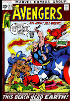 Avengers v1 #93 marvel comic book cover art by Neal Adams