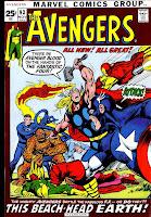 Avengers v1 #93 marvel comic book cover art by Neal Adams