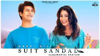 Suit Sandal Lyrics Harpi Gill