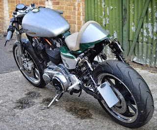 sportster superlow cafe racer by maidstone hd