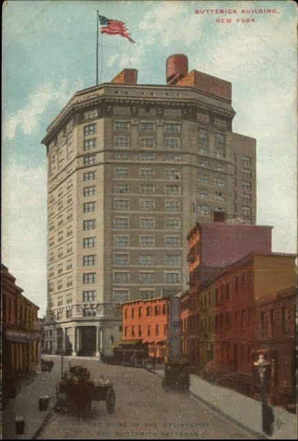 Butterick Building c. 1910 (Image courtesy collectible seller on BidStart)