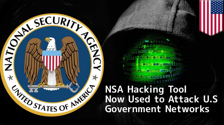 Hackers Now Using Stolen NSA Hacking Tool to Attack U.S Government Networks