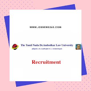 TNDALU Recruitment 2019 for Assistant Professor, Junior and Office Assistant