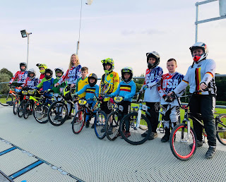 Belfast city bmx club at 2019 World Championships Zolder Belgium