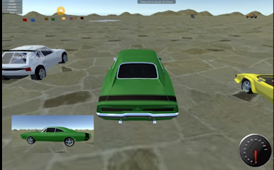 Free Download Complete Project Unity 3D - Car Acrobats 3