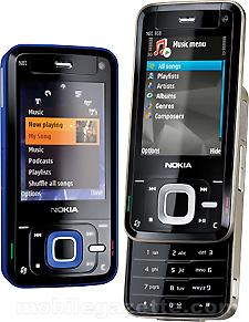 Spesifikasi Ponsel Nokia N81 8GB