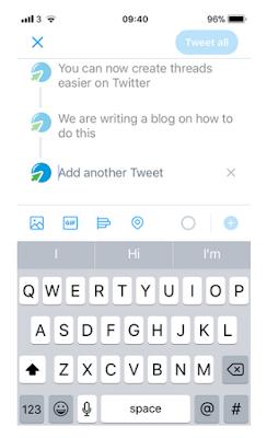 Cara membuat thread di Twitter, Begini Caranya