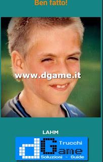 Soluzioni Guess the child footballer livello 34