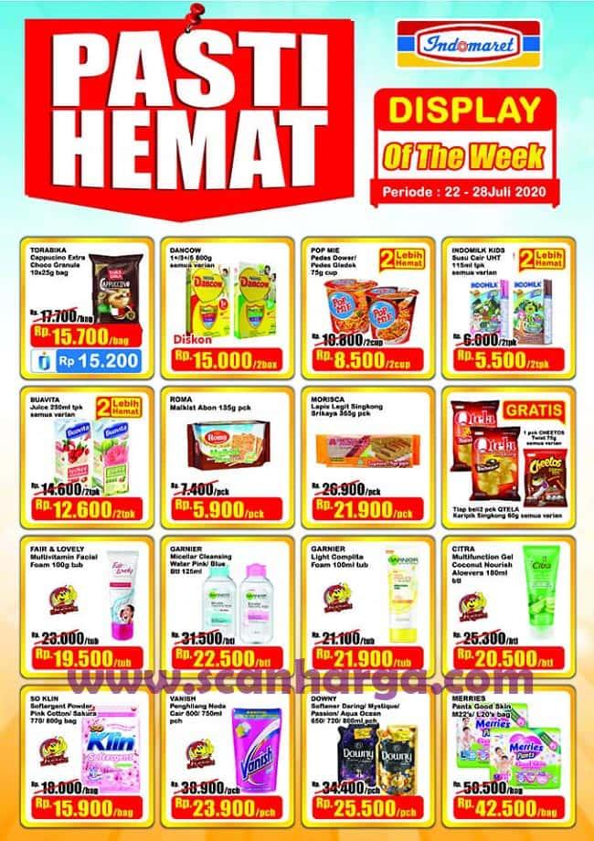 Indomaret Promo DTW Display Of The Week Pasti Hemat 22 - 28 Juli 2020