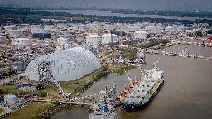 Tras siete años, México vuelve a importar ilegalmente fosfato saharaui de la mina de Bucraa y falseando el destino del buque.
