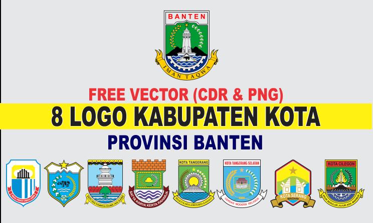 Free Vector Logo 8 Kabupaten Kota Banten Cdr Png Tutoriduan Com