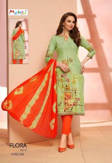 Mehta Flora 57 Cotton Print Salwar kameez wholesaler