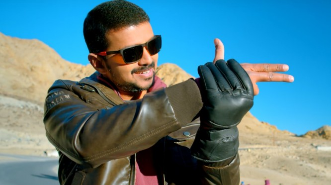 Actor Vijay Theri Movie Not Come For Top 10 List
