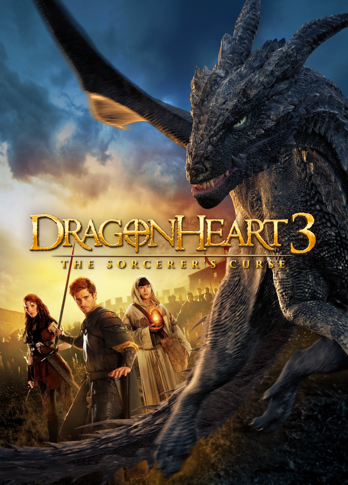 Dragonheart 3: The Sorcerer's Curse [2015] [DVDR] [NTSC] [Latino]