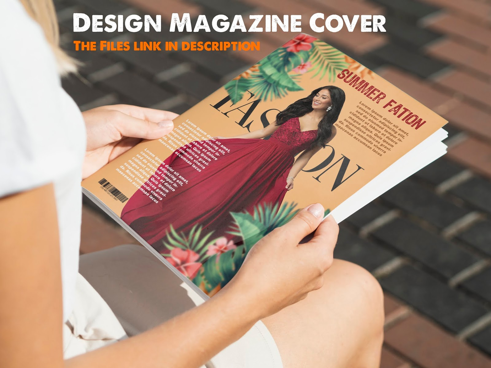 Magazine Cover Design - Photoshop Tutorial
